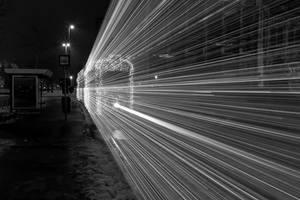 ghost tram by arbebuk