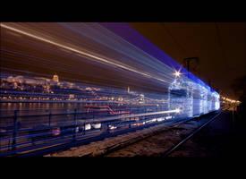 ghost tram 2. by arbebuk
