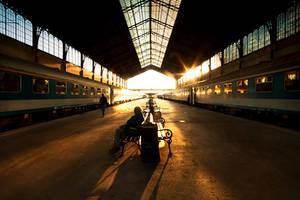 sunday morning traveler II. by arbebuk