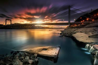 Budapest Lights by arbebuk