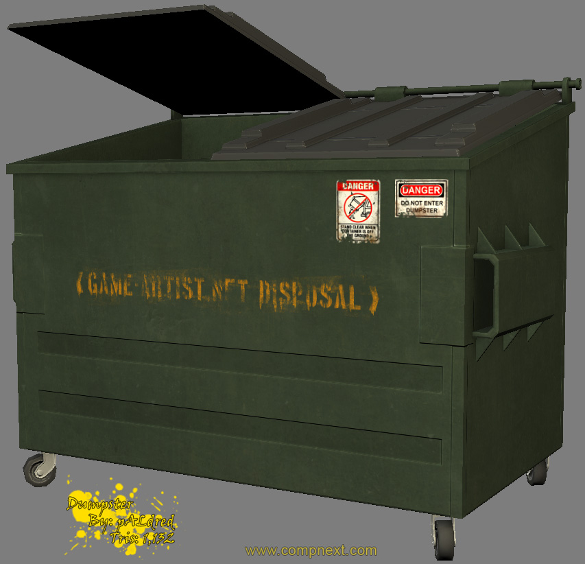 Dumpster - Texture Start 02 by okoRobo on deviantART