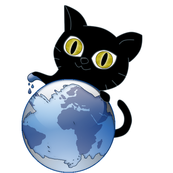 Black Cat Bc Design Logo by bl4ck-c4t-xiii