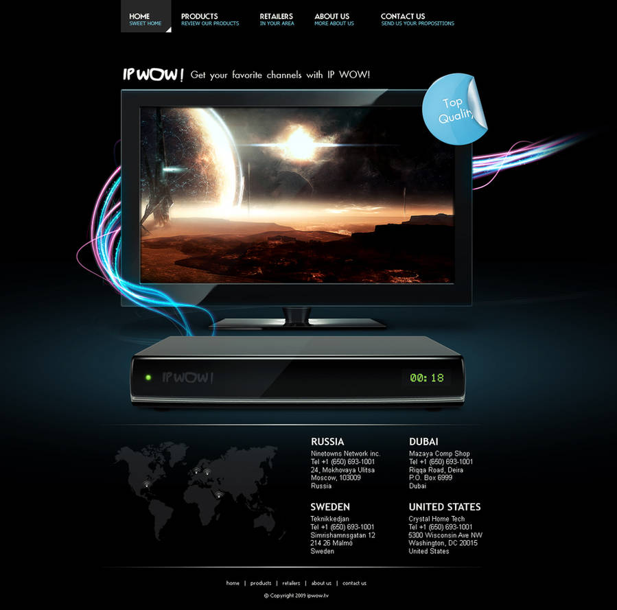 IPTV Box by zobzik on DeviantArt