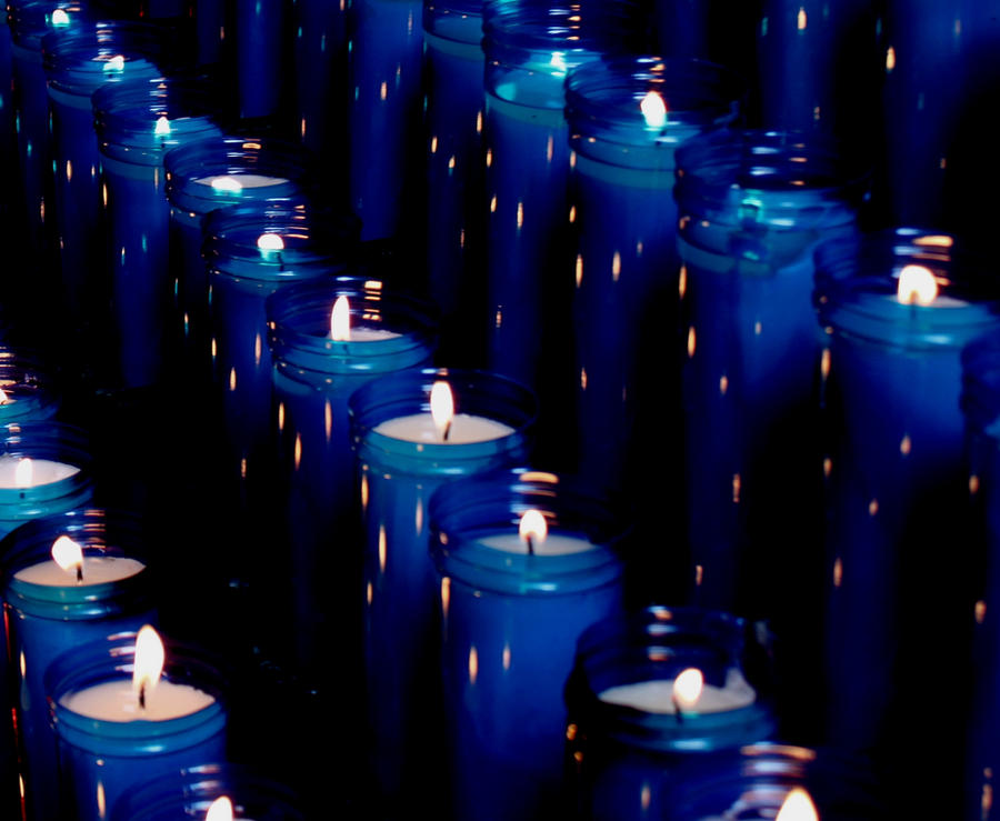 Blue Candles By Marticulated On DeviantArt