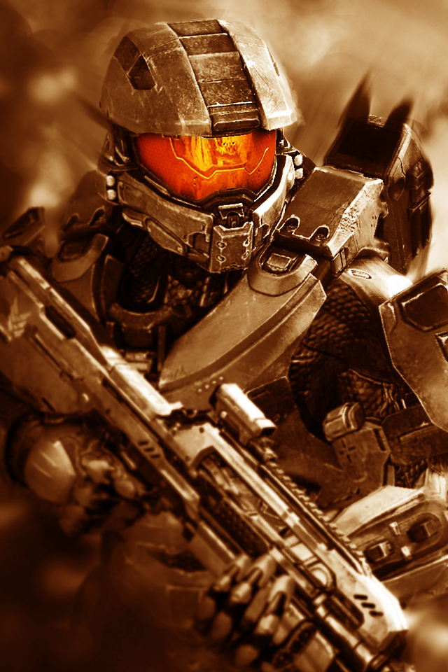 Halo 4 Master Chief IPhone Wallpaper 2 By Smyf