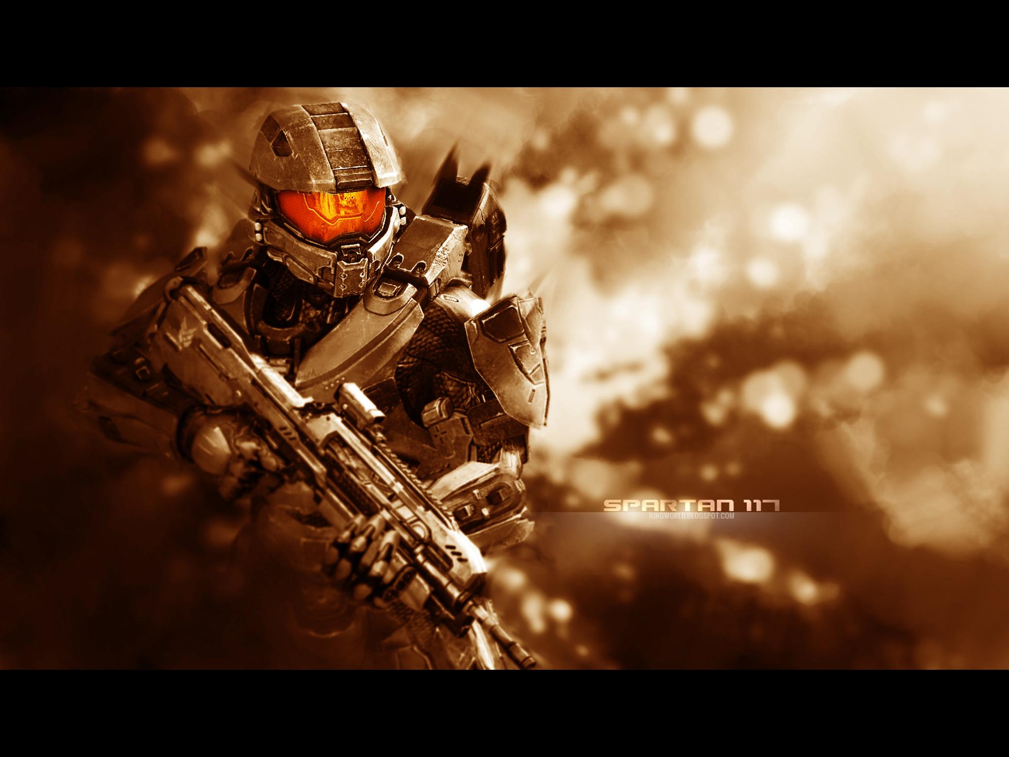 Halo 4 Master Chief Ipad Wallpaper 2 By Smyf On Deviantart