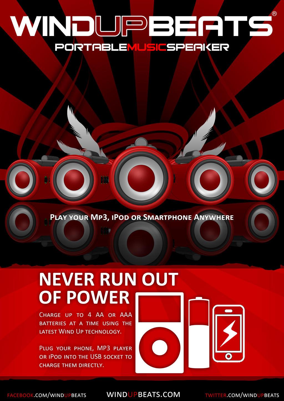 Windup Beats Magazine Ad By Smyf On Deviantart