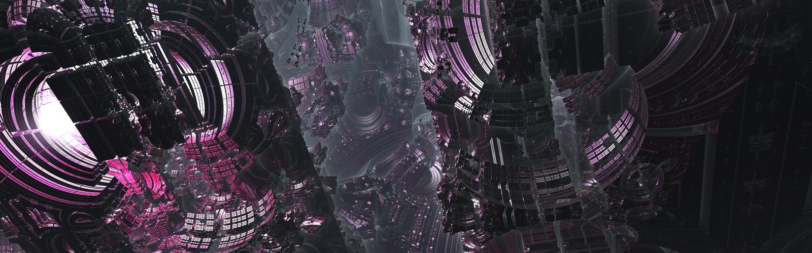 Violet City by Smyf