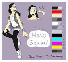[OC] BNHA - Saki Hitomi by SimpleSketchez