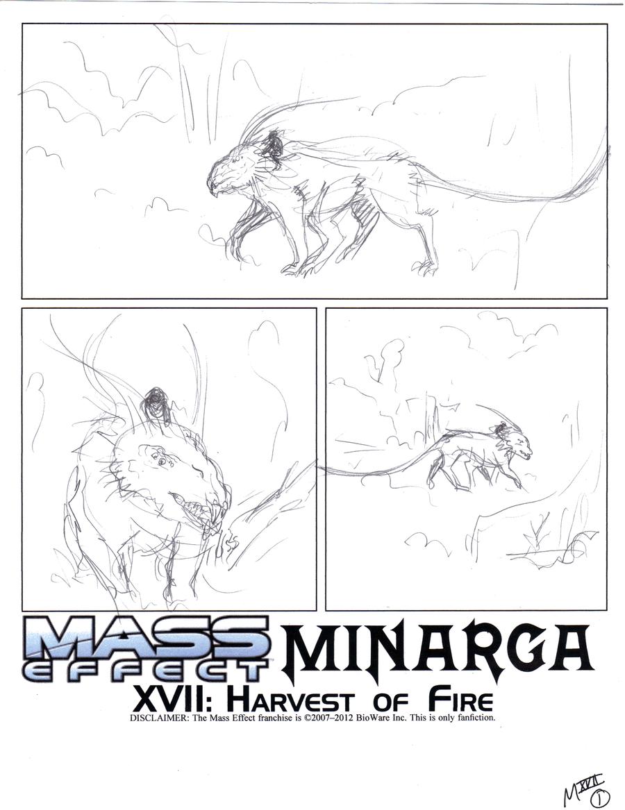 Minarga XVII-p01 first draft by AmethystSadachbia