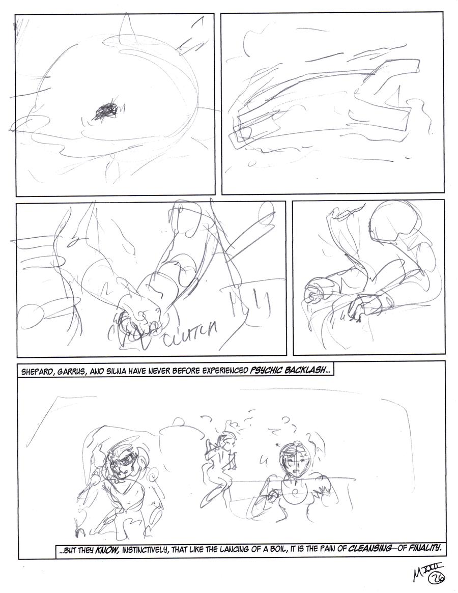 Minarga XXII-p26 first draft by AmethystSadachbia