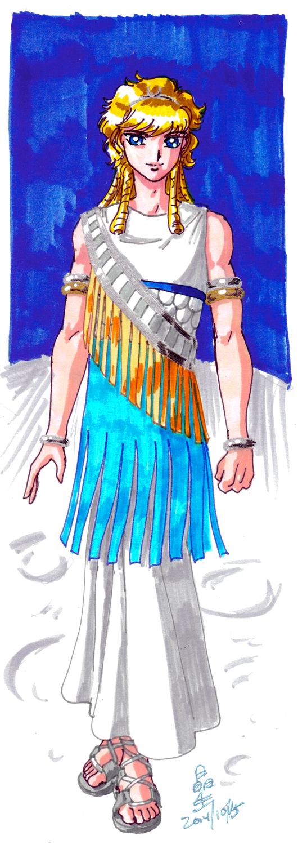 Cosmic Background: Prince-Consort Kaskuh by AmethystSadachbia