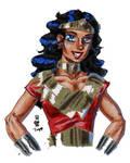 A Wonder Woman study