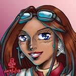 Brisenia speed art by AmethystSadachbia