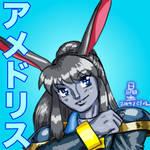 Anime-esque Amedryth by AmethystSadachbia
