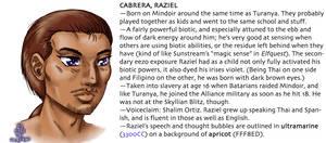 Raziel character guide