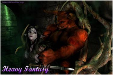 Sensual Elf by Heavy-Fantasy