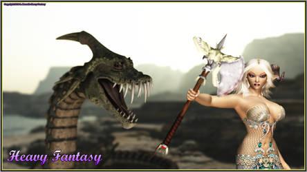 Sweet Demon Elf by Heavy-Fantasy