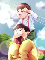 Jyuushimatsu y su  subordinado by Fuwofumi