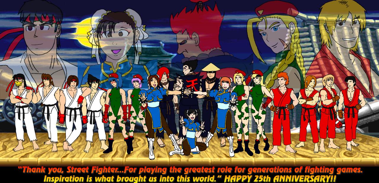 street fighter x tekken 25th anniversary