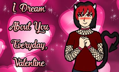 Legend of Vendetta Valentine Cards - Velnias by 2ndCityCrusader