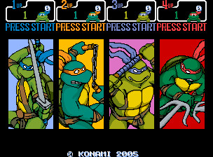 New TMNT Arcade by 2ndCityCrusader