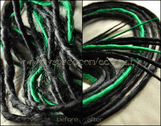 How to repair dreads tutorial by Masquerade-Infernale