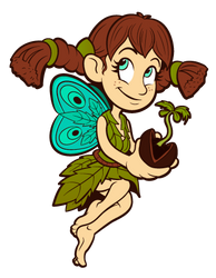 Puffmama Fairy by GaryWintle
