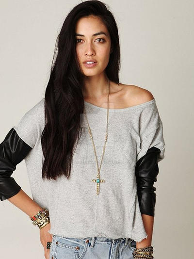 Girls 2014 Fashion New Style On T Shirt World By