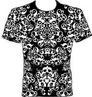 Black + White T Shirt Design 1