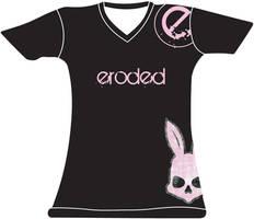 Black Eroded Design