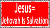 Jesus-Jehovah Is Salvation by SpudYeisleyCreations