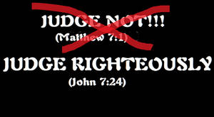 Judge Righteously by DRY-Designs