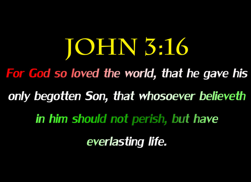 JOHN 3:16-The True Meaning of Christmas by DRY-Designs on DeviantArt