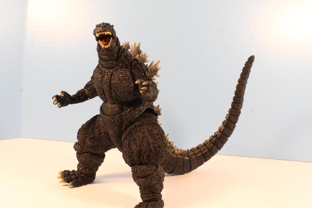 S H MonsterArts Godzilla 1995 Birth Version by ... Godzilla 1995 Birth