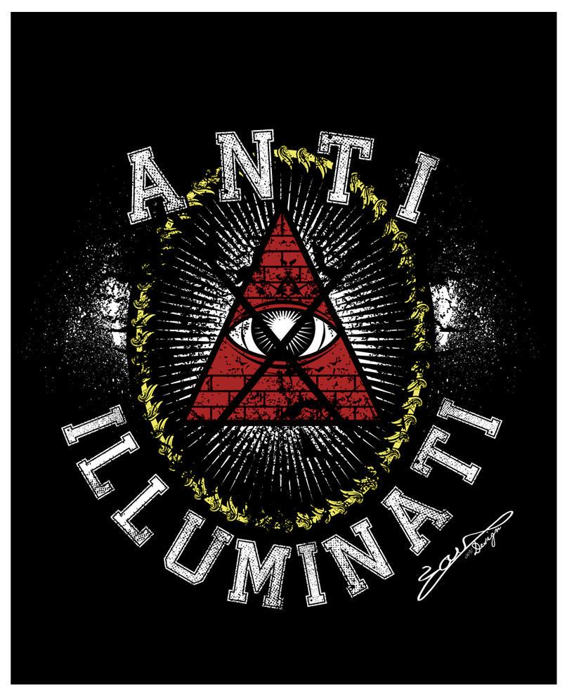 anti illuminati art