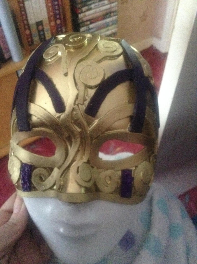 Hellequin mask! by Krystalrose87