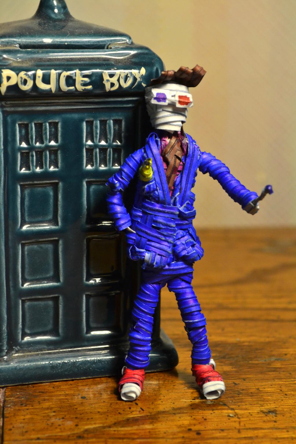 Twist tie Tenth Doctor by justjake54