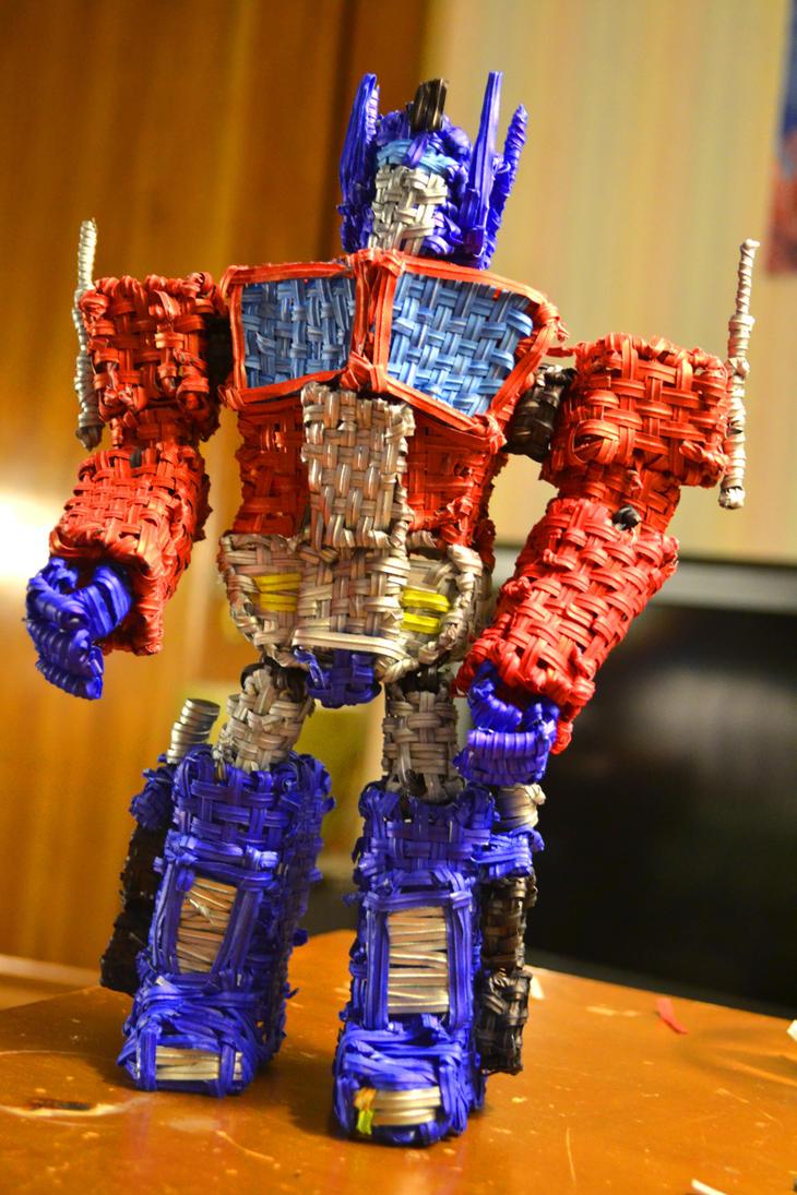 Twist Tie Optimus Prime by justjake54