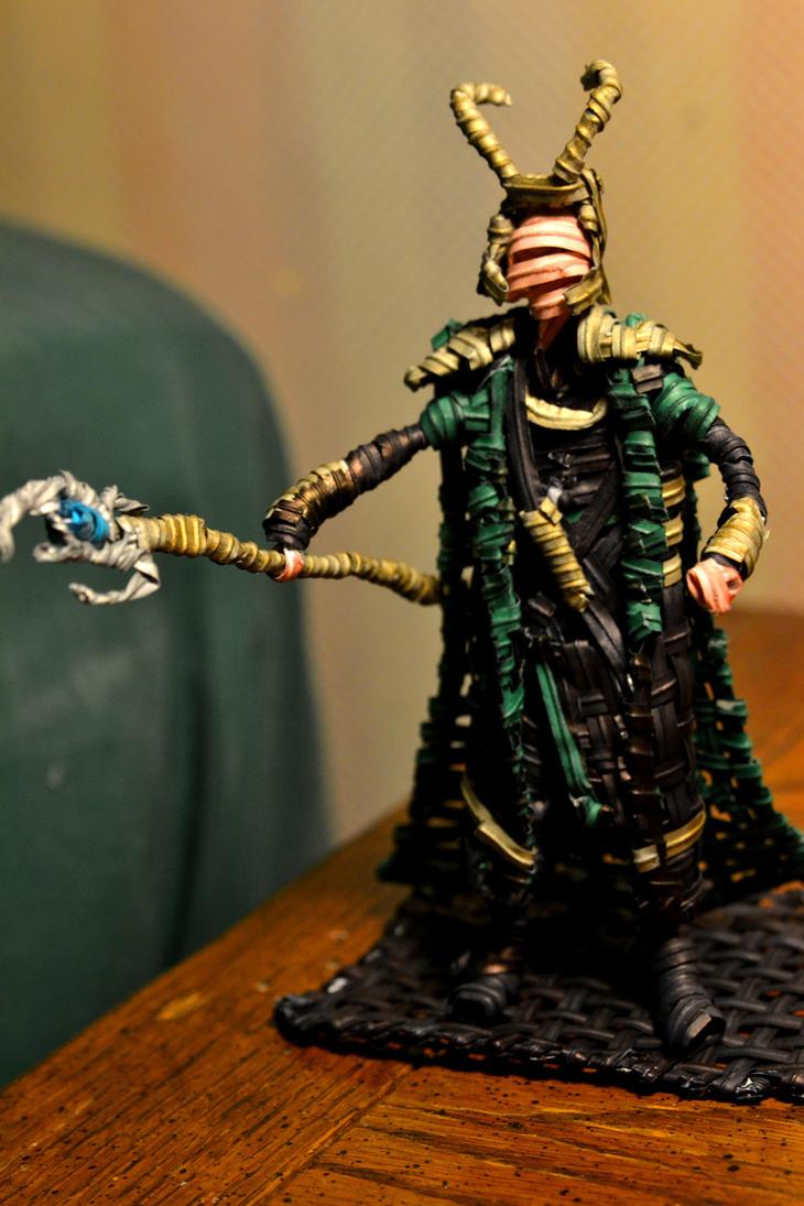 Twist tie Loki by justjake54