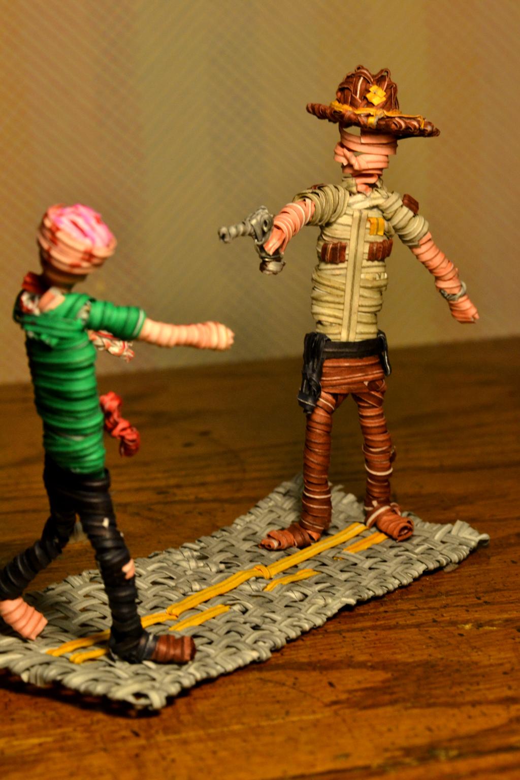 Twist Tie Walking Dead by justjake54