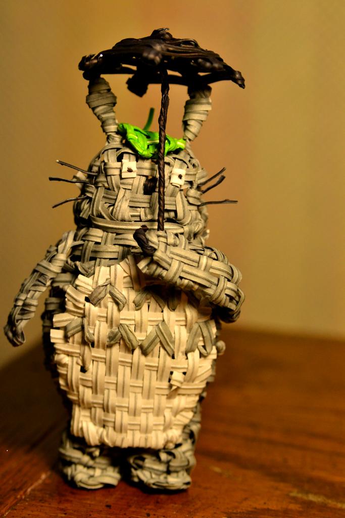 Twist Tie Totoro by justjake54