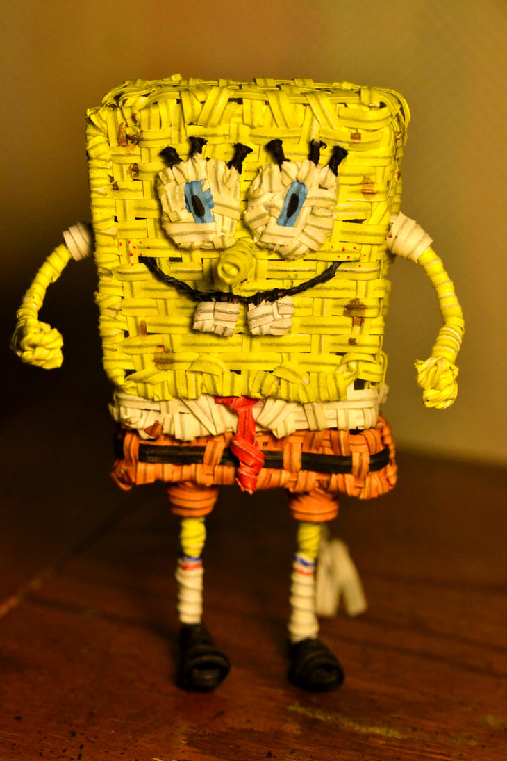 Spongebob (Twisttie) Squarepants by justjake54