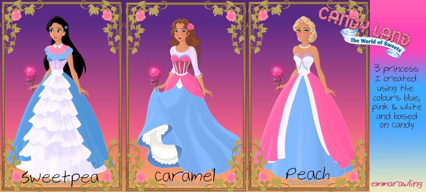Azaleas Heroine Fan Art Candyland Princesses By