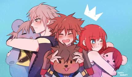 Celebrate the 18th anniversary of Kingdom Hearts