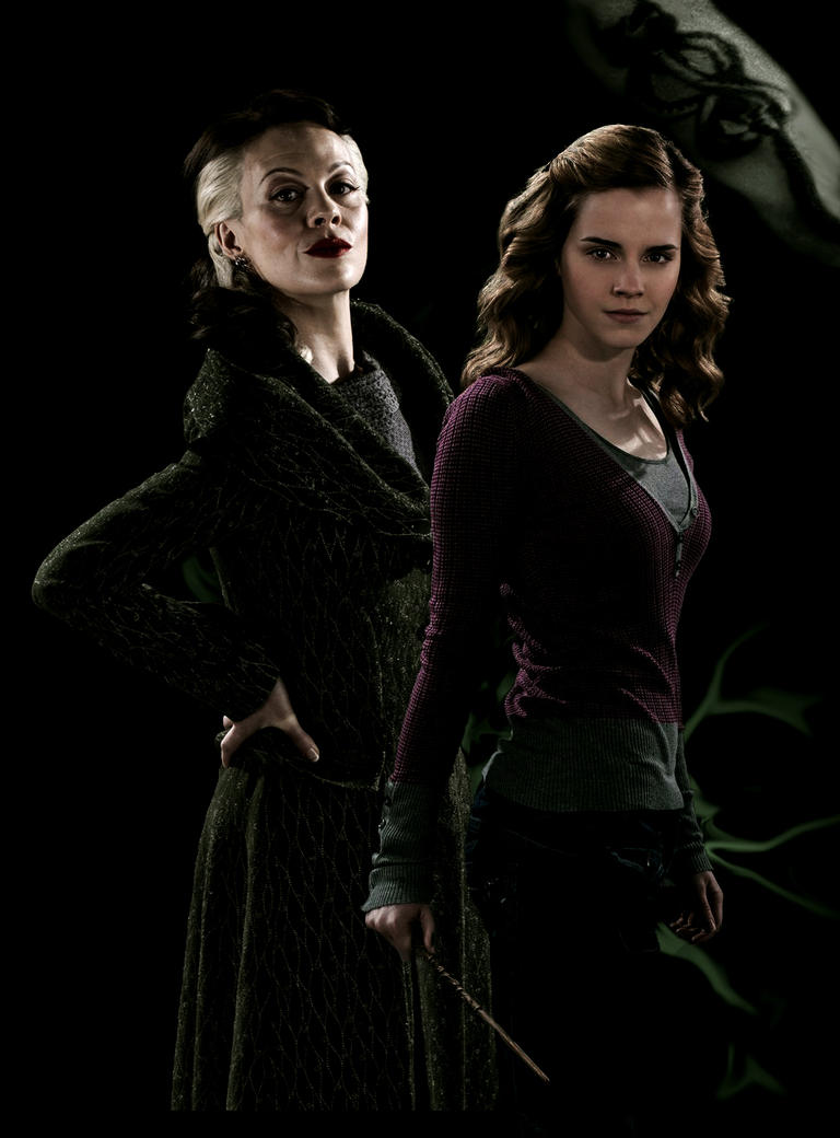 bellatrix and malfoys