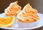 Cupcakes... orange cupcakes