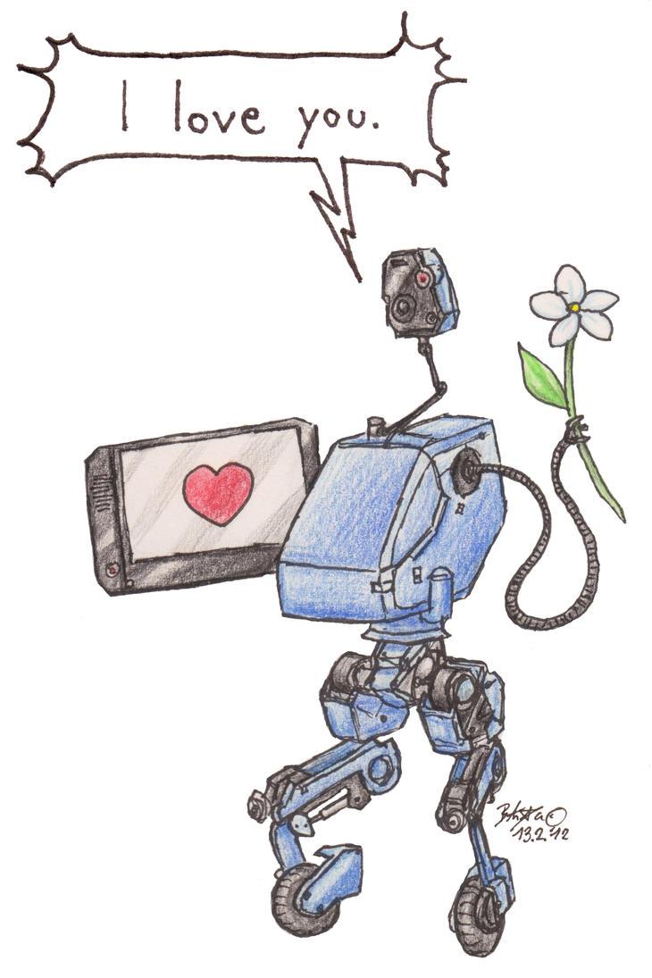 Metal Gear MK II - Valentines Card by TariToons