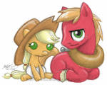 Applejacky and Lil' Macintosh