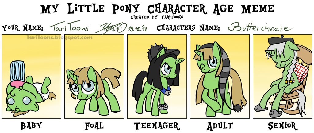 my_little_pony_character_age_meme___buttercheese_by_taritoons d5ojryc my little pony character age meme buttercheese by taritoons on